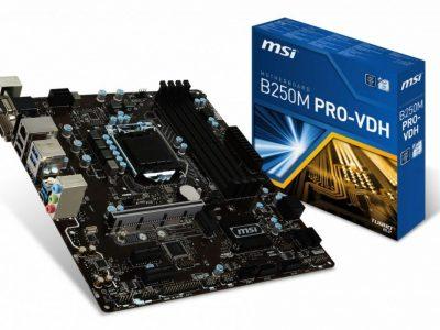 MSI B250M PRO-VDH s1151 B250 4DDR4 M.2/USB3.1