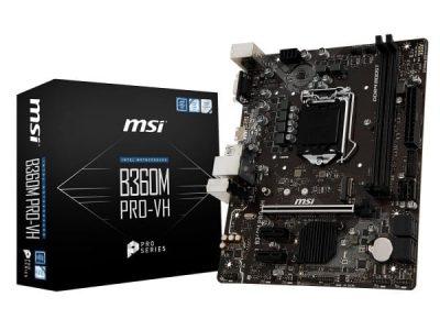 MSI B360M PRO-VH s1151 B360