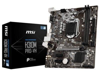 MSI H310M PRO-VH s1151 H310