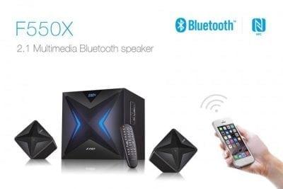 Głośniki 2.1 Fenda F550X 56W RMS BT NFC FM USB TF