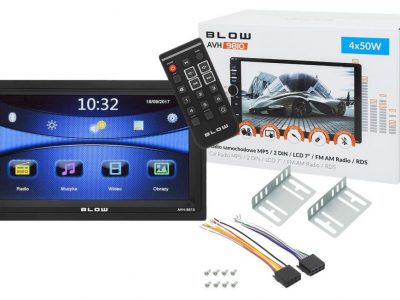 "Radio BLOW AVH-9810 2DIN 7"" BT SD USB AUX in"