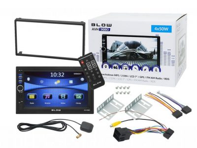 RADIO BLOW AVH-9880 2DIN Z NAWIGACJĄ GPS 7C BT USB
