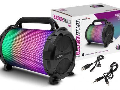 Głośnik BT AC885 BAZOOKA FM microSD LED 2500mAh