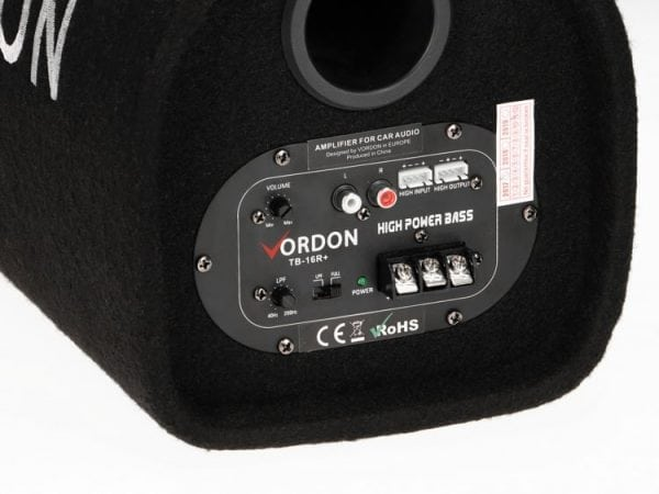 Tuba basowa Subwoofer Vordon TB-16R+ 350W
