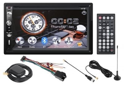 Radio Kruger&Matz KM 2003.1 2-DIN GPS DVB-T
