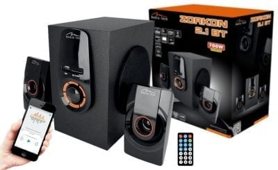 ZESTAW GŁOŚNIKÓW ZORKON BT MT3331 20W FM SD USB