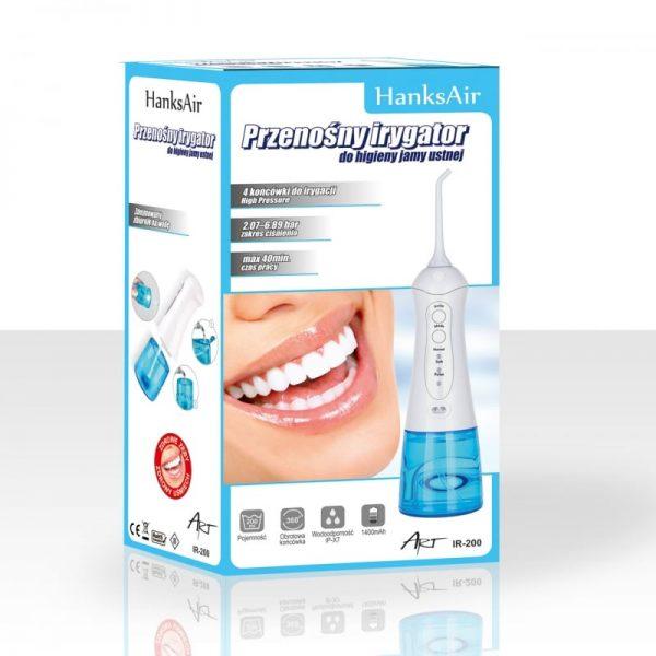 Przenośny irygator do higieny jamy ustnej