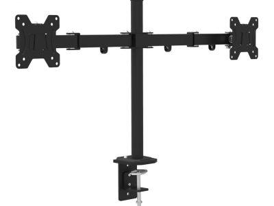 """UCHWYT BIURKOWY ART L-02A DO 2-ch 8kg MONITORÓW LED/LCD 13-27"""""""