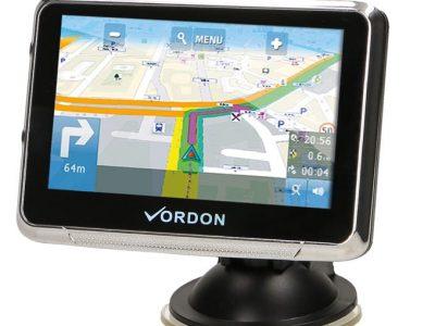 """Nawigacja Samochodowa GPS Vordon LCD 4,5"""" Mapy PL EU"""