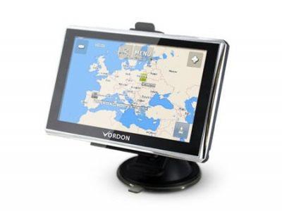 """Nawigacja samochodowa GPS Vordon LCD 5"""" Mapy PL EU"""