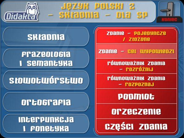 Didakta - Język polski 2 (2013)