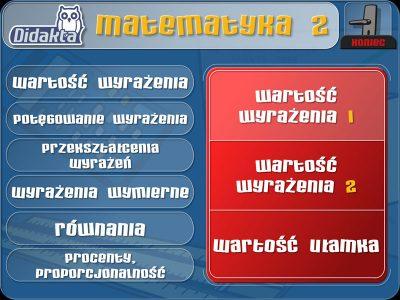 Didakta - Matematyka 2 - Algebra (2013)