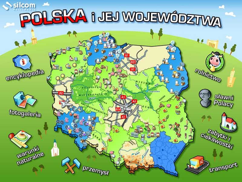 Polska i jej województwa (2013)