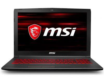 MSI GV62 8RD i7-8750H 8GB 1T GTX1050Ti FHD DOS