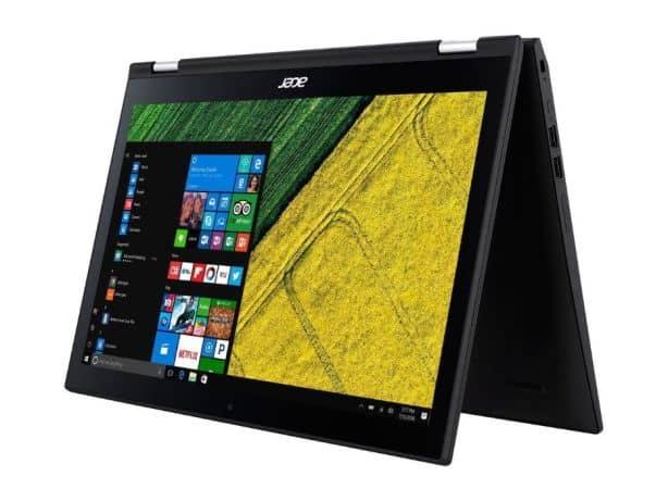 Acer SP315-51-37E7 i3-7100U 6GB 1T x360 FHD IPS WIN10