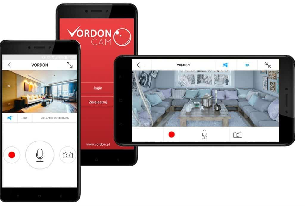 Kamera WI-FI Vordon N2 720p H.264 microSD