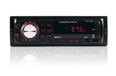 Radio samochodowe AC-1101U Nelson 1-DIN ISO USB SD