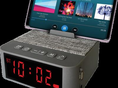 Głośnik bluetooth SoundClock 120 budzik 8W FM USB
