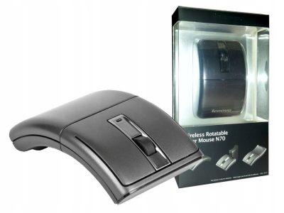 Mysz bezprzewodowa Lenovo N70A 1200dpi 30m