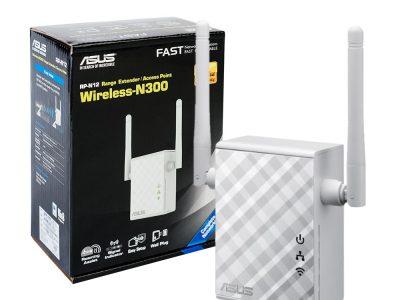 Wzmacniacz sygnału WiFi Asus RP-N12 N300 MIMO