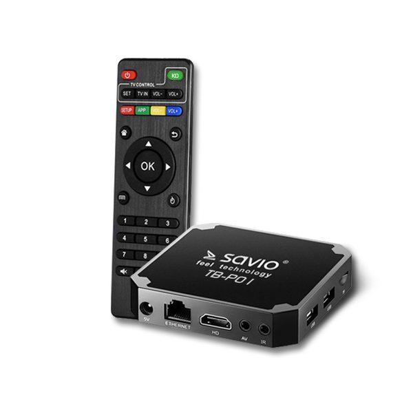Smart TV Box Premium One TB-P01 2/16GB Android 7.1 HDMI 4K USB WiFi SD