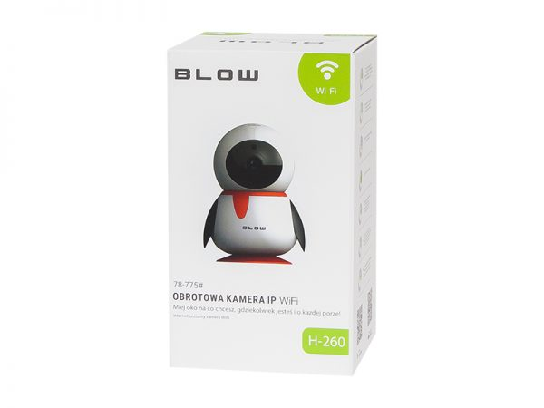 Kamera IP BLOW H-260 WiFi 1080p obrotowa